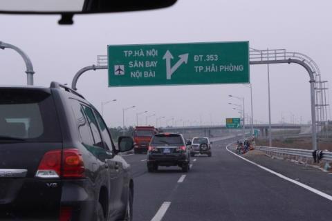 Tổng cục Đường bộ kiến nghị giảm phí đường bộ cao tốc Hà Nội - Hải Phòng