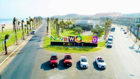 Bất động sản ven biển Phan Thiết giữ sức nóng mùa dịch. Ảnh: Dự án NovaWorld Phan Thiet của Tập đoàn Novaland