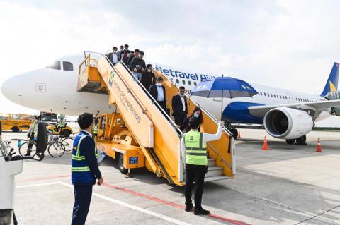 Chuyến bay ra mắt của Vietravel được thực hiện hồi tháng 12/2020 theo lộ trình Hà Nội - Huế - TP.HCM