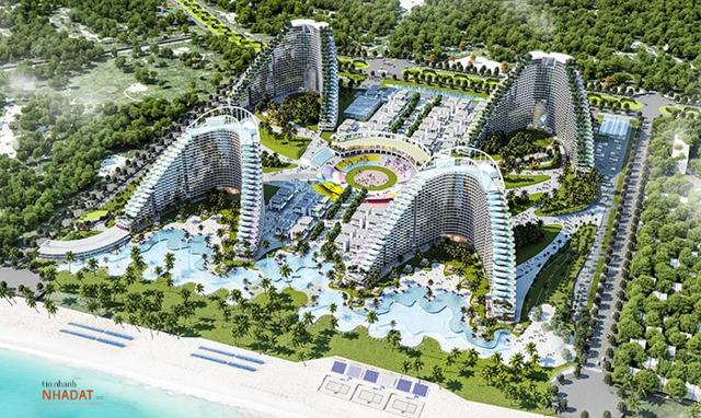 The Arena Cam Ranh – dự án làm nên tên tuổi của Vịnh Nha Trang.