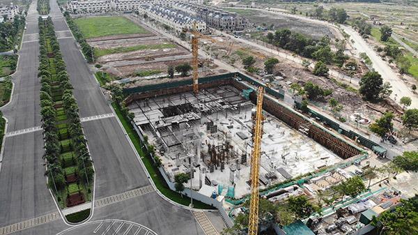 Dự ánAn Lạc Green Symphony xây dựng không phép, chủ đầu tư bị phạt 40 triệu đồng