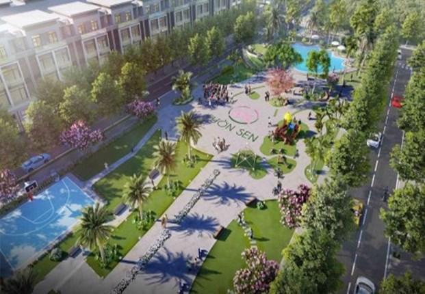 """Chủ đầu tư dự án khu đô thị Vườn Sen bị xử phạt 250 triệu đồng do """"bán nhà trên giấy""""."""
