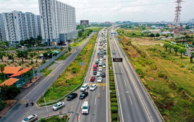 Đề xuất 11.505 tỷ đồng mở rộng 24km cao tốc TP Hồ Chí Minh – Long Thành – Dầu Giây.