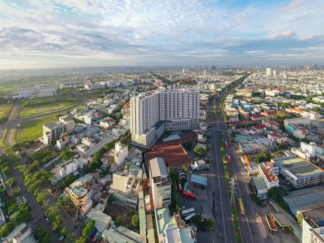 Hạ tầng quận Bình Tân hoàn thiện với nhiều tuyến đường lớn rộng thoáng. Ảnh: Hưng Thịnh Land