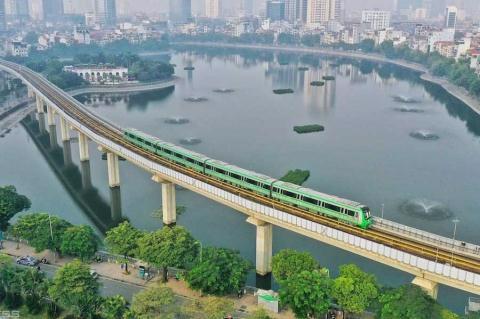 Đường sắt Cát Linh-Hà Đông đã nhiều lần lỡ hẹn vận hành. Ảnh: VietNamNet