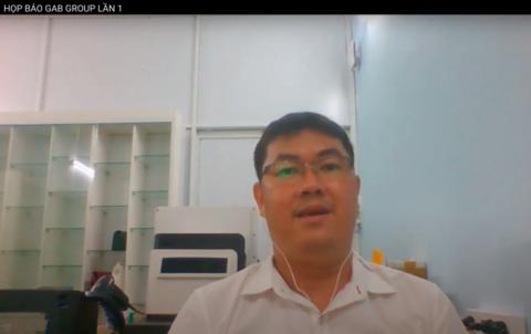 Ông Nguyễn Vũ Quốc Anh đại diện pháp luật của CTCP Tập đoàn Đầu tư Công nghệ Tự động Toàn Cầu (GAB Group), doanh nghiệp đăng ký vốn công ty 500.000 tỷ đồng