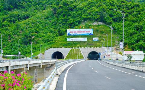 Dự án hầm Đèo Cả đã hoàn thành. Ảnh: Dân Việt
