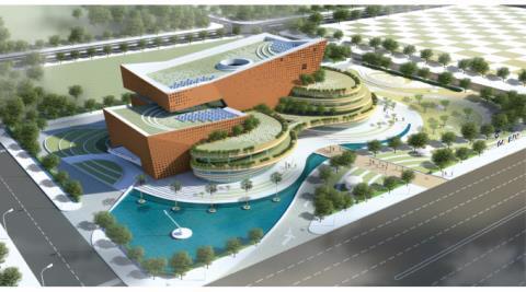 Mô hình bảo tàng gần 400 tỷ của tỉnh Cao Bằng. Ảnh: NNVN