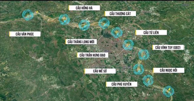 10 cây cầu mới bắc qua sông Hồng là giải pháp căn cơ và dài hạn giúp tăng kết nối giao thông liên vùng Thủ đô