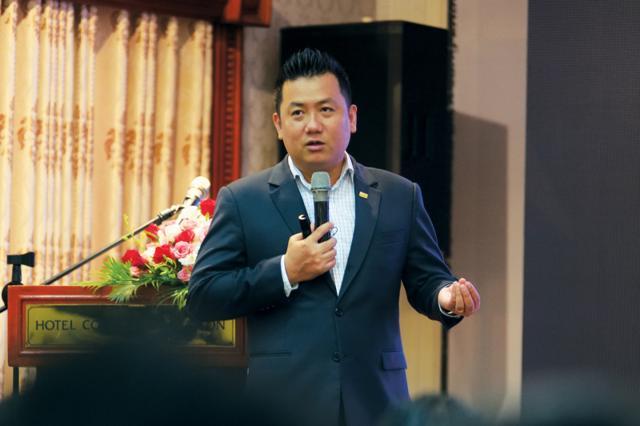 """CEO DKRA Việt Nam Phạm Lâm cho biết, doanh nghiệp bất động sản đã đến lúc cần nguồn """"oxy"""" để vượt qua đại dịch."""