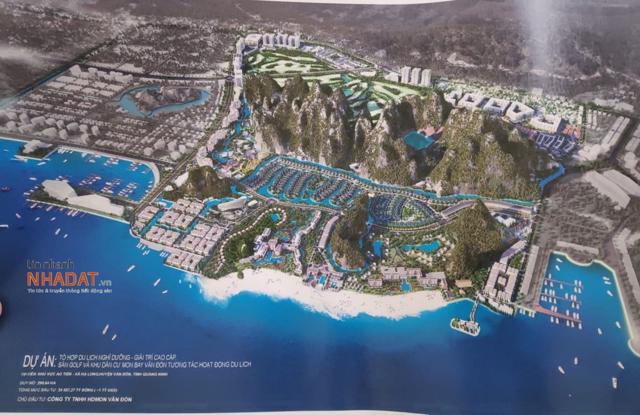 Phối cảnh dự án HD Mon Bay Vân Đồn.