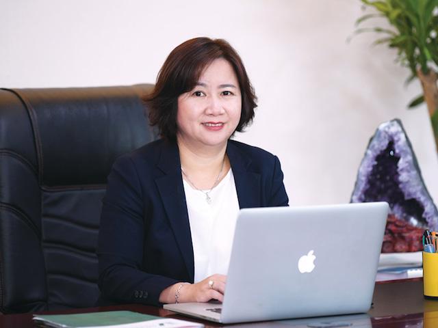 Bà Nguyễn Thị Thanh Hương, Tổng Giám đốc Công ty Đại Phúc Land.