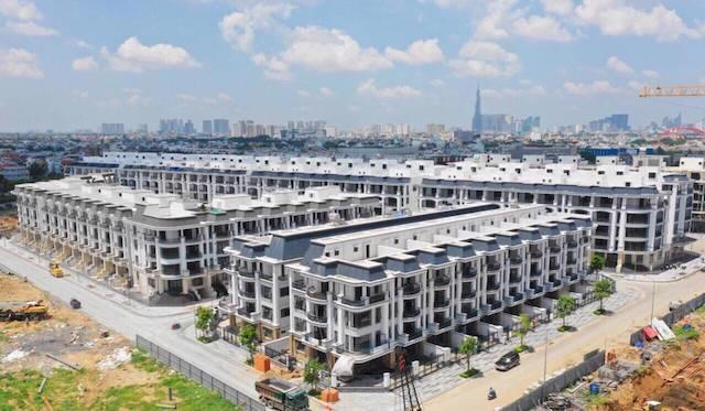 Dịch bệnh ảnh hưởng đến kế hoạch thi công dự án và bán ra các sản phẩm bất động sản.