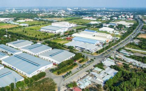 Một góc Khu công nghiệp Nam Tân Tập