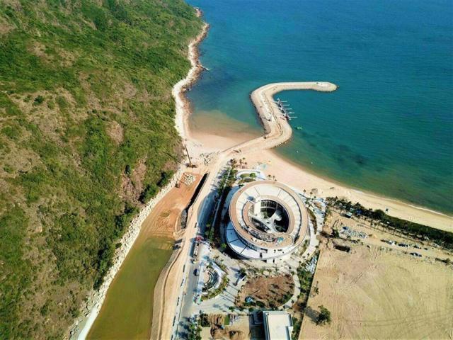 Hình ảnh thực tế Khu du lịch Merry Land Hải Giang nhìn từ trên cao