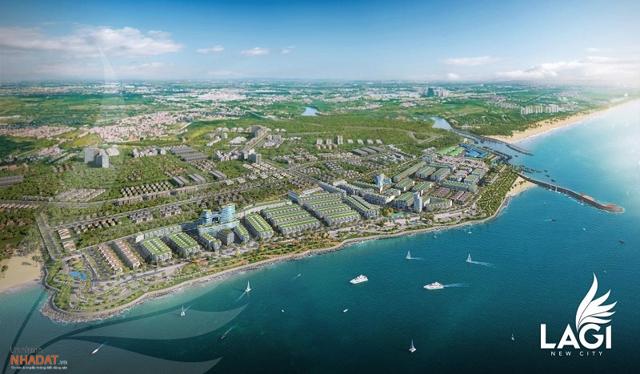 Phối cảnh dự án Phức hợp Đô thị Thương mại – Dịch vụ & Du lịch biển Lagi New City do Danh Khôi và DKRA Vietnam hợp tác phát triển.