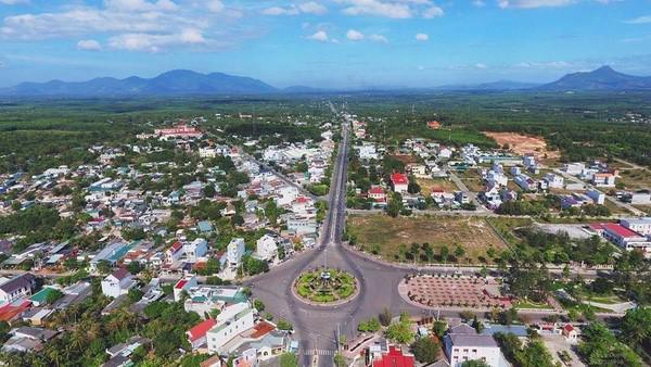 Một góc tại thị xã La Gi (Bình Thuận).