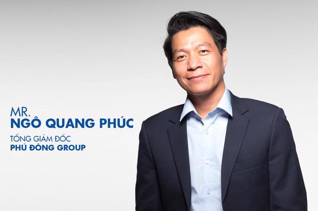 Ông Ngô Quang Phúc - CEO Phú Đông Group.