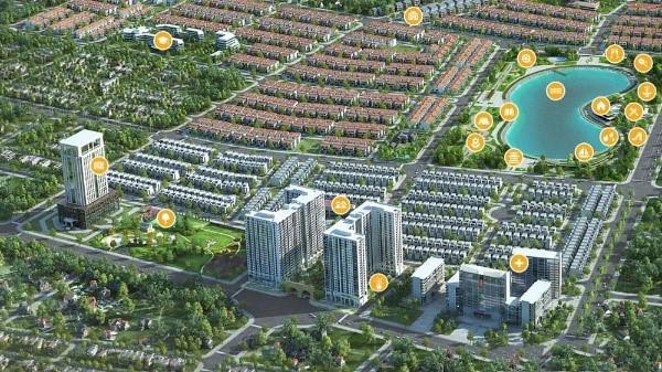 Kể từ đầu năm 2021, UBND tỉnh Bắc Giang đã phê duyệt hàng loạt dự án KĐT hàng trăm ha.