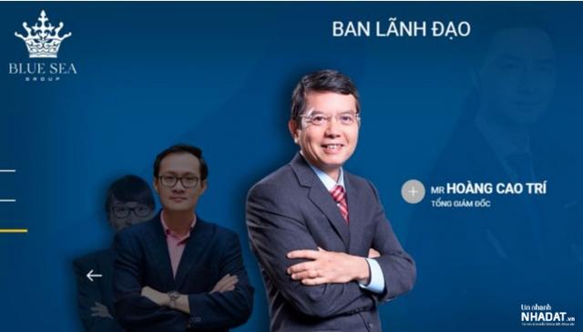 Ban lãnh đạo của Blue Sea Group (Ảnh: Bluseagroup.com.vn)