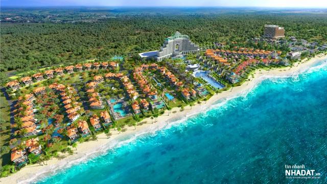 Phối cảnh dự án Edenia Resort Hồ Tràm (ảnh: Blueseagroup.com.vn).