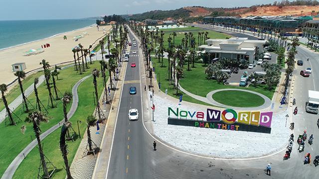 NovaWorld Phan Thiet thu hút được sự chú ý của nhà đầu tư nhờ hệ sinh thái tiện ích đa dạng, tạo nên những trải nghiệm độc đáo về du lịch. Ảnh thực tế dự án NovaWorld Phan Thiet - Nguồn: Novaland.