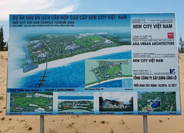 New City Phú Yên từng được kỳ vọng sẽ làm thay đổi bộ mặt của du lịch Phú Yên cũng như khu vực Nam Trung Bộ.