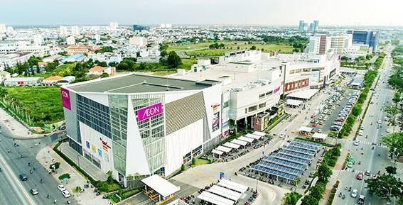 Moonlight Centre Point nằm gần kề đại siêu thị Aeon Mall Bình Tân. Ảnh: Hưng Thịnh Land