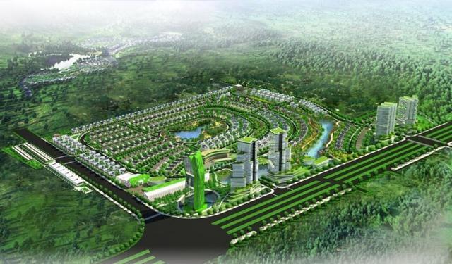 Phối cảnh dự án Khu đô thị Thung lũng Hoa Hồng (Rose Valley).