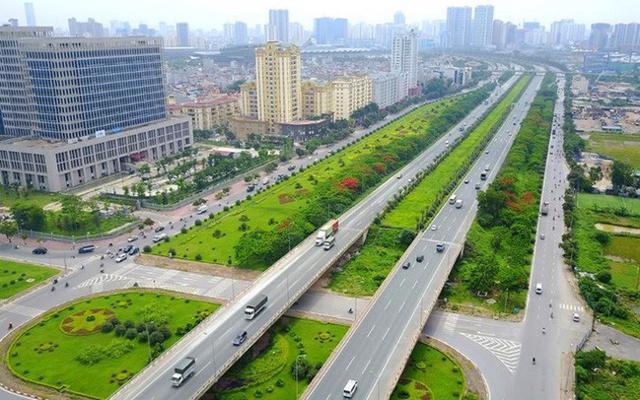 Hạ tầng giao thông bứt phá, thị trường bất động sản Hà Nội hưởng lợi.