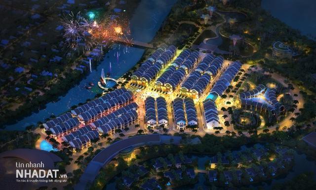 Phối cảnh dự án Cồn Bắp (Hoi An D'or) tại phường Cẩm Nam, TP Hội An, tỉnh Quảng Nam.