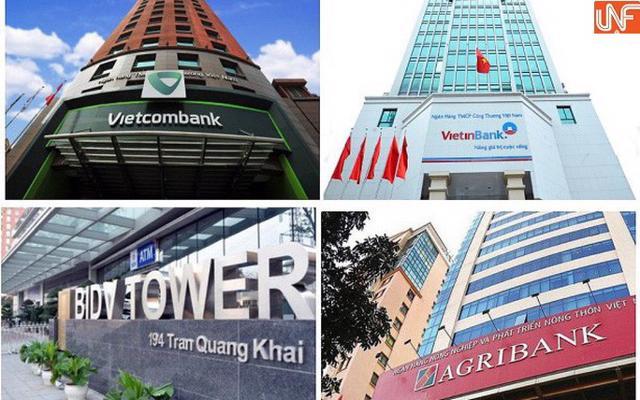 Tốc độ tăng trưởng phát hành giấy tờ có giá tại Big4 ngân hàng đang phân hóa