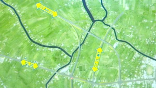 9.500 tỷ đồng xây dựng cao tốc nối Đồng Tháp và Tiền Giang - Ảnh 1