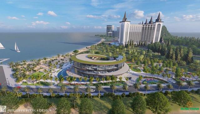 Phối cảnh siêu dự án Hải Giang Merry Land của Tập đoàn Hưng Thịnh.