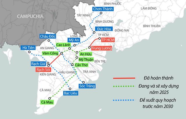 Gần 10.000 tỷ làm tuyến cao tốc nối Tiền Giang – Đồng Tháp - Ảnh 1
