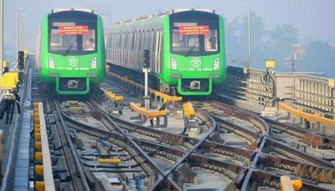 Chưa thể vận hành, đường sắt Cát Linh-Hà Đông lại ngốn thêm 7,83 triệu USD. Ảnh: VTC