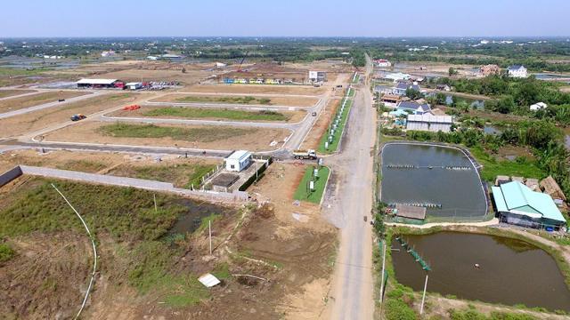 Các dự án Khu công nghiệp vùng ven cũng ăn theo làn sóng bất động sản công nghiệp thời gian qua.