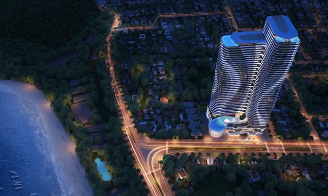 Phối cảnh dự án Khu phức hợp căn hộ Quy Nhơn Seaview.