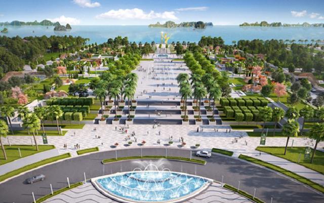 Phối cảnh dự án Quảng trường biển – Tổ hợp đô thị du lịch sinh thái, nghỉ dưỡng, vui chơi giải trí cao cấp biển Sầm Sơn