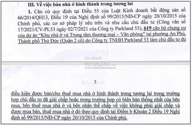 Nguồn: Sở Xây dựng TP Hồ Chí Minh