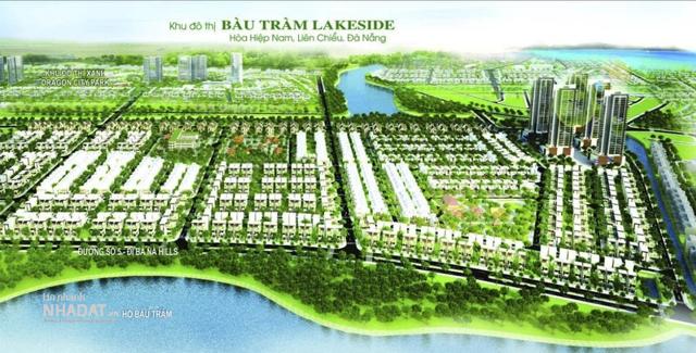 Phối cảnh dự án Khu đô thị Xanh Bàu Tràm Lakeside.