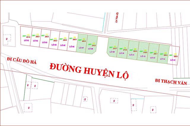 Hà Tĩnh: Đấu giá 8 lô đất ở vùng nông thôn, vượt trên 54 bước giá - Ảnh 1