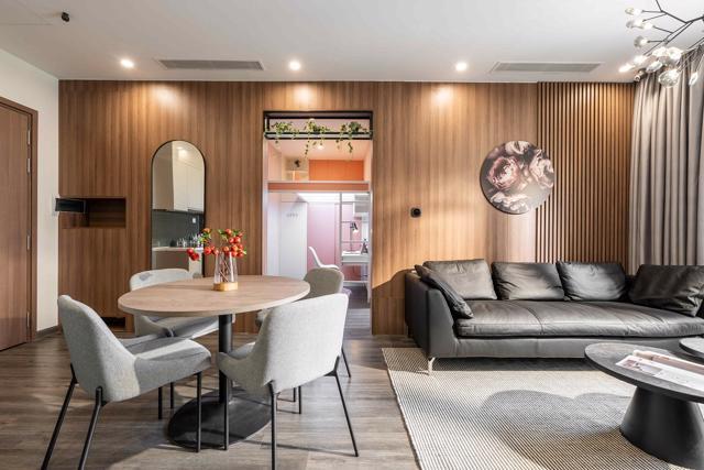 Các căn hộ có khả năng biến tấu linh hoạt theo nhu cầu và sở thích của chủ sở hữu.