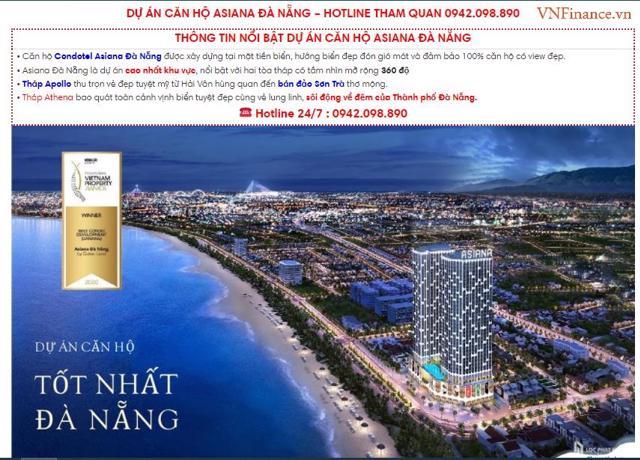 Thông tin rao bán căn hộ tại dự ánKhu căn hộ Asiana.