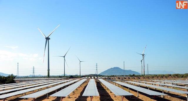 Nhà máy điện mặt trời Gio Thành 1 và 2thuộc địa bàn xã Gio Thành và Gio Hải, huyện Gio Linh, tỉnh Quảng Trị. Ảnh minh hoạ.