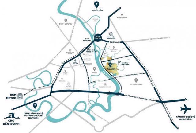 Tuyến cao tốc Biên Hòa - Vũng Tàu sẽ tạo ra 2 lộ trình mới để di chuyển giữa từ thành TP.HCM đến Đồng Nai, Bà Rịa - Vũng Tàu hoặc lựa chọn cao tốc TP.HCM - Long Thành - Dầu Giây