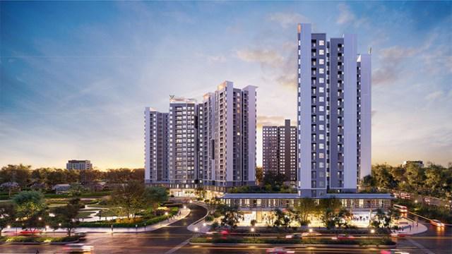 Phối cảnh tổng thể dự án West Gate Bình Chánh.