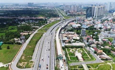 Hà Nội đồng ý chủ trương triển khai Dự án đầu tư xây dựng tuyến đường Vành đai 4 - Vùng Thủ đô. Ảnh minh hoạ