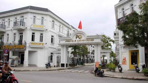 Khu đô thị Phú Gia Compound (Đà Nẵng). Ảnh: Báo Giao thông