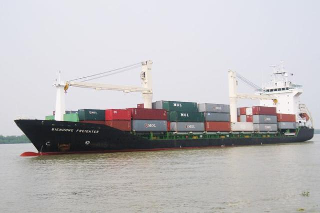 Tàu vận tải Biển Đông. Ảnh:(Vinalines).